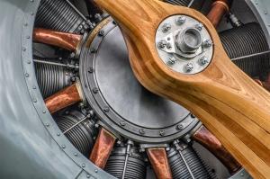"""Rotary Aero Engine"" Dave Ferguson — JOINT WINNER Projim"